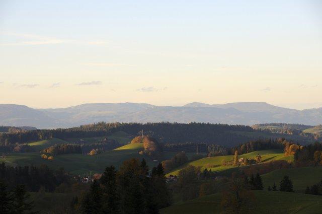Emmentaler Herbsthügel und Jura