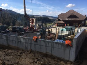 Parkplatzkonstruktion